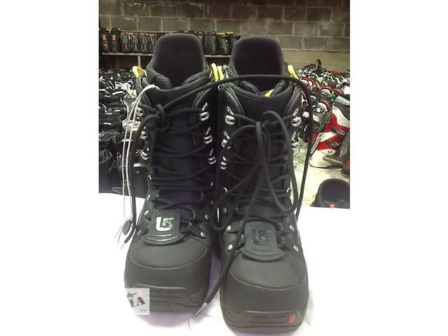 Ботинки для сноуборда BURTON EMERALD / BLACK 27,5(43р.)- объявление о продаже  в Львове