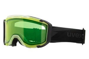 Маска гірськолижна Uvex green SKL35-221871