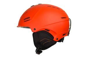 Шолом гірськолижний Uvex L-XL Orange SKL35-221919
