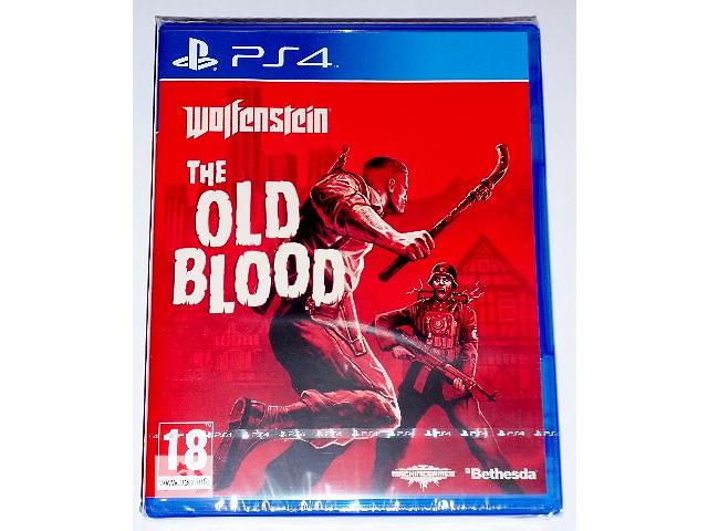 продам Wolfenstein The Old Blood PS4 диск новый / рус. версия бу в Запорожье