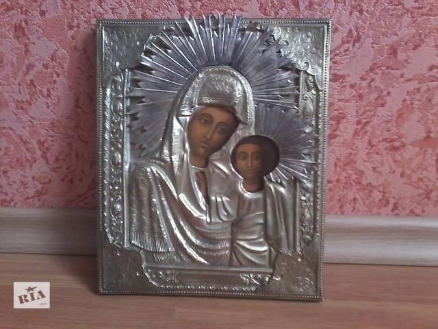 бу икона Казанская Божья Матерь 19 век в Виннице