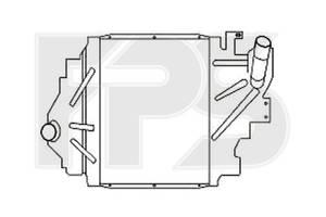 Интеркулер RENAULT SYMBOL I 02-06 (LB0/1/2)  (артикул FP 56 T109-X)