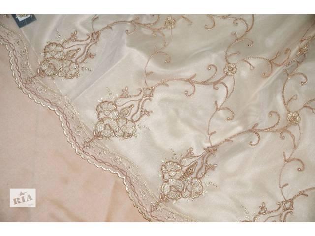 купить бу Итальянское кружевное полотно Armonia Di Interni, готовая тюлевая штора в Киеве