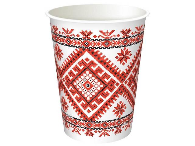 Изготовление бумажных стаканов объемом от 110 до 1000мл с индивидуальным дизайном- объявление о продаже   в Украине