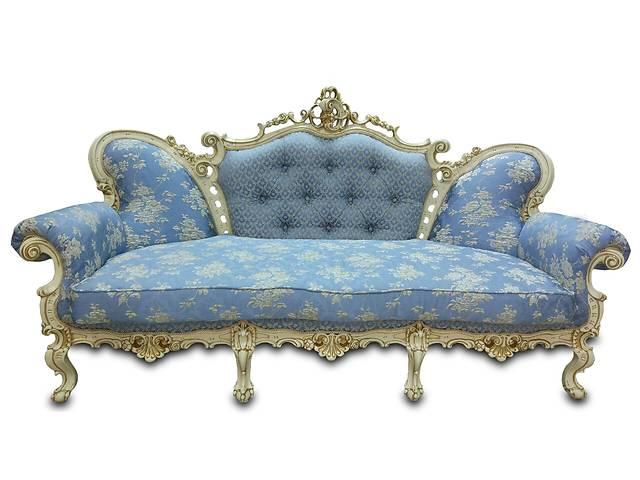 """продам Изысканный диван """"Белла"""" в стиле барокко. Ткань, кожа, экокожа. Гарантия. бу в Киеве"""