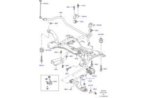 б/у Балки мотора Ford Focus