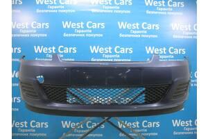 Б/У  Бампер передний синий без парктроников и омывателей Fiesta 1386201. Вперед за покупками!