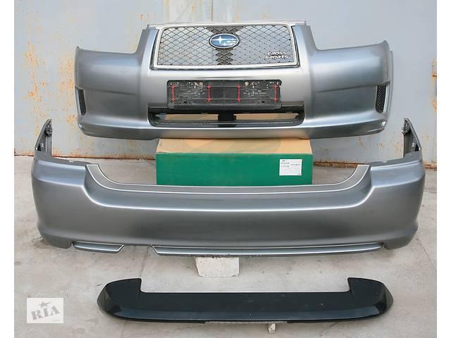 бу Б/у бампер решетка спойлер комплект CROSS SPORT STI для Subaru Forester в Запорожье