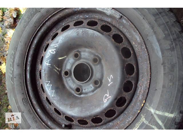 бу Б/у диск с шиной для легкового авто Volkswagen  MishelinR15 в Бучаче