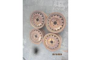 Б/у диски для Nissan Micra стальные 4 штуки