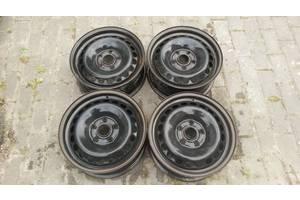 Б/у Диски колесные R15. 6Jx15H2. ET45. 5X112. металлический, стальной , железный. Audi.  VW. 8D0601027,4B060102703C.