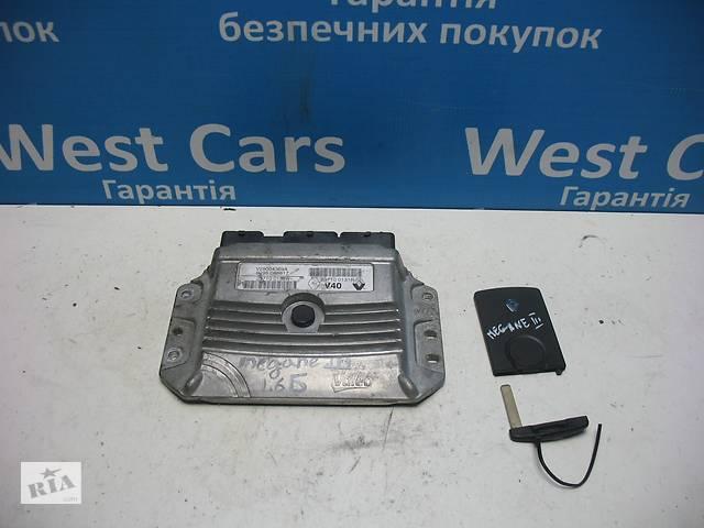 купить бу Б/У Scenic Блок управления двигателем с ключ-картой. Вперед за покупками! в Луцьку