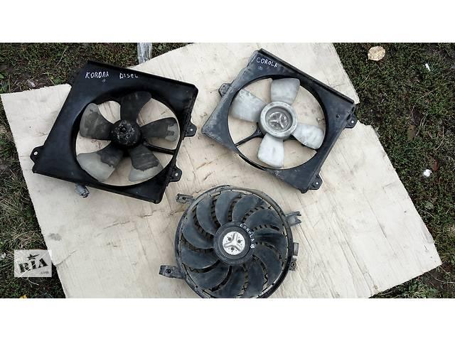 купить бу Б/у моторчик вентилятора радіатора для Toyota Corolla в Бучаче