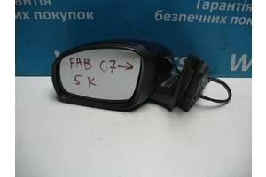 Б/У Зеркало боковое левое на 5 контактов Fabia 2007 - 2014 5j2857501bf. Вперед за покупками!