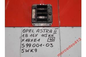 б/у Блоки управления двигателем Opel Astra