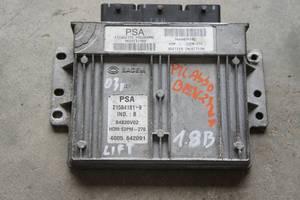 б/у Блоки управления двигателем Citroen