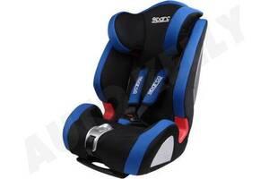 Детское автокресло универсальное от 9 месяцев до 12 лет - черно-синее (SPARCO) SPC3005AZ