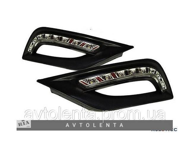 купить бу Дневные ходовые огни Hyundai Sonata 10-15 (FPS) комплект в Киеве