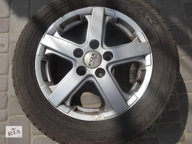Диск колесный литой (титан) комплект R16  (комплект, 4 шт с резиной )Рено Трафік Reno Trafic Nissan- объявление о продаже  в Луцке
