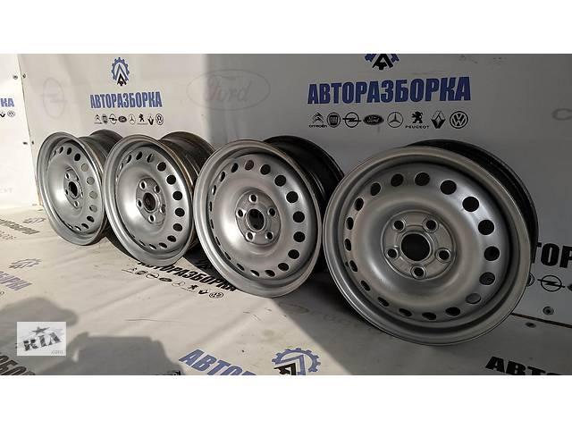 бу Диск колесный железный R15 6 J15 H2 DIN (отверстия круглые) Volkswagen Transporter 7D0601027A в Луцьку