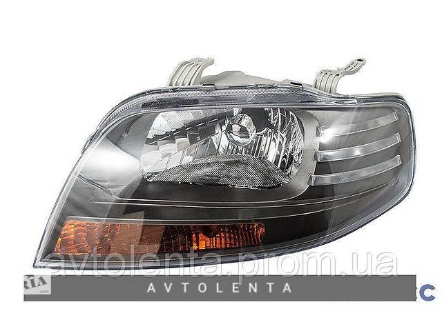 купить бу Фара Chevrolet Aveo T200 (11/05-) левая, механич. темный отражатель (FPS) в Киеве