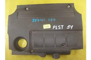 Fiat Sedici 2006- 1.9 крышка двигателя мотора декоративная