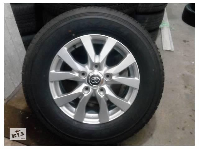 продам Колеса ОРИГІНАЛ НОВІ шини Dunlop Grandtrek AT25 + НОВІ диски Toyota R18 5*150 Land Cruiser 200 Tundra Sequoia інші бу в Львове