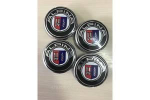 Колпачки заглушки на диски BMW Alpina 68/65/11мм. 3613.6783536