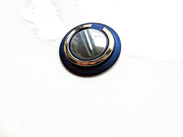 продам Кольцо, держатель для телефона, магнитный держатель для телефона. Темно синій бу в Ровно