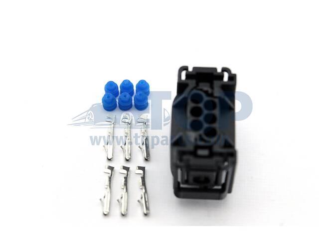купить бу Коннектор автомобильный (под датчик высоти), Фишка TQ59004 на Audi A6 2002-2006 в Ровно