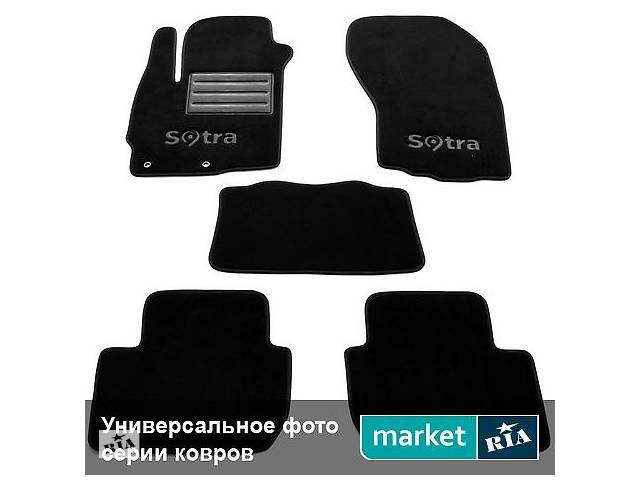 продам Коврики в салон для Opel Vectra 1999-2002 (Sotra), Полный комплект (5 мест) бу в Виннице