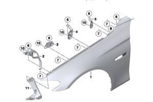 б/у Крылья передние M5