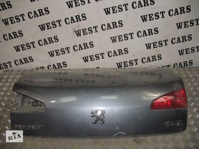 Б/У 1999 - 2010 607 Кришка багажника. Вперед за покупками!- объявление о продаже  в Луцьку