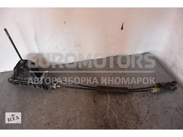 купить бу Кулиса переключения МКПП с тросами комплект Renault Clio (III) 2005-2012 8200381572 в Києві