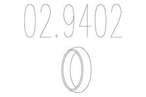 Монтажное кольцо AUTOBIANCHI Y10 / FIAT UNO (146_) / OPEL COMBO (71_) 1979-2006 г.