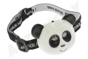 Налобный фонарик в виде панды