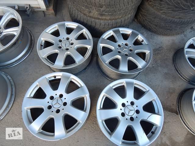 продам Оригинальные диски  Mercedes 7.5 R17 5X112 ET56 для R,ML,Viano,Vito бу в Виннице