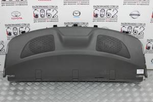 Полка задняя под стекло серая Toyota Corolla E15 07-13 (Тойота Королла Е15)