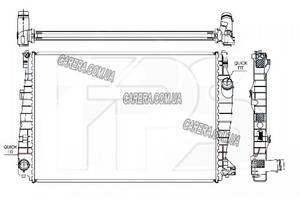 Радиатор ALFA ROMEO 145/146