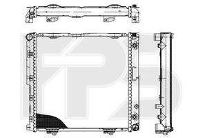 Радиатор охлаждения двигателя Mercedes 124 Мерседес 84-96 , FP46A202X AVA