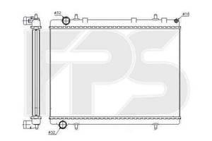 Радиатор охлаждения CITROEN C4 2005-2010 FP 20 A1442