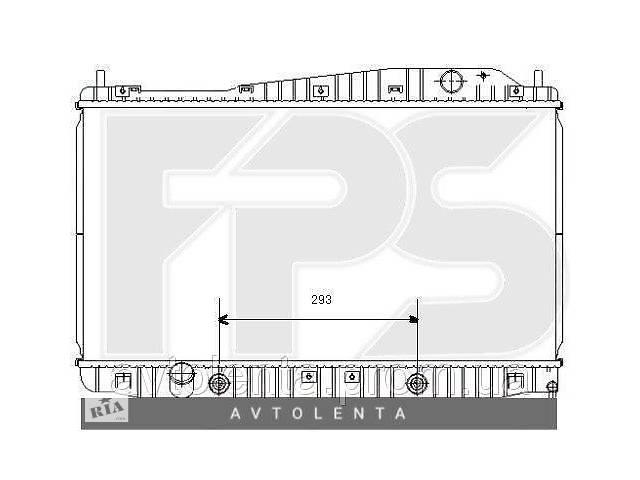 бу Радиатор охлаждения двигателя Chevrolet Evanda (Samsung) FP 17 A934-X в Києві