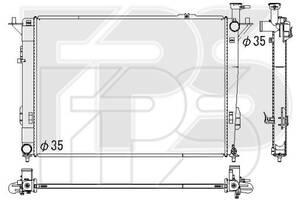 Радиатор охлаждения Hyundai Santa Fe III (12-15) 2.4, 3.3 АКПП (Koyorad) FP 32 A148-X