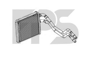 Радиаторы печки Ford Fiesta