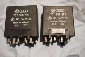 Реле свечей накаливания 1.9 д для Volkswagen T4 1999рв на фольксваген т4 моторы 1.9 д - 2.4 д оригинал тип 701906123448