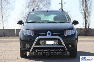 Кенгурятники Renault Sandero