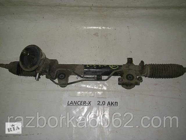 купить бу Рейка рулевая с ГУ 1.8-2.0 Mitsubishi Lancer X 07-13 (Мицубиси Лансер 10)  4410A006 в Киеве