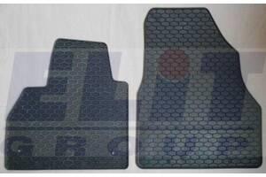 Резиновые коврики Renault Kangoo Express '08- (ELIT) 2 шт (подходит для Mercedes Citan)