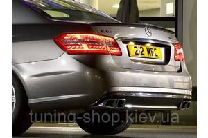 Спойлеры Mercedes E-Class
