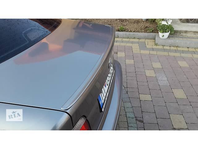продам Спойлер сабля тюнинг BMW E39 стиль M5 (стекловолокно) БМВ Е39 бу в Луцке